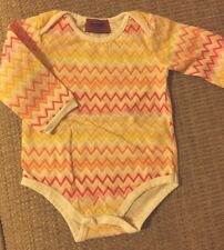 Missoni Bodysuit Baby Girl 3-6 months, Excellent Condition, Italy