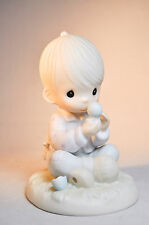 Precious Moments: I Believe In Miracles - E-7156R - Classic Figure