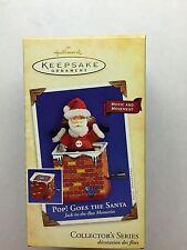 "Hallmark Keepsake Ornament ""Pop! Goes the Santa"" Mib 2004 Collector's Series"