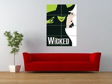 WICKED BROADWAY MUSICAL BOOK OZ WITCH GIANT ART PRINT PANEL POSTER NOR0249