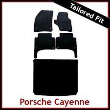 Porsche Cayenne 2003 2004... 2009 a Medida Alfombra Alfombrillas De Coche Y ARRANQUE (Oval Clip)