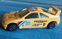 BBurago Peugeot 405 Turbo 16 Rallye Parigi Dakar 1990 n:203 Vatanen 1:43 BURAGO
