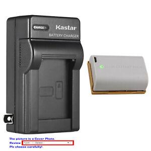 Kastar Battery AC Wall Charger for Canon LP-E6 LP-E6N EOS 60D EOS 60Da EOS 70D