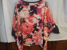 "Juicy Couture Women's Sz Med-""Pebble Rose"" Open Shldr-Wvn 3/4 Slv Ovrsz Top-NWT"