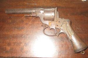 Civil War Dug Relic Perrin Revolver