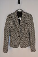 R 560 Zara Basic Womens Blazer size XS Long Sleeve White Black