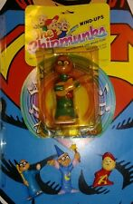 Vintage toy Alvin and The Chipmunks Windup Simon MOC Ideal & PVC figures 1983