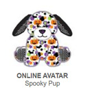 Webkinz Classic Spooky Pup *Code Only* (~retired~)