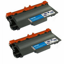 2PK Compatible For Brother MFC-8810DW HL-5470DW Printer TN750 Toner Cartridge