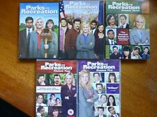 Parks And Recreation DVD, Seasons 1-5, requires multi region player