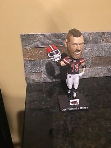 Joe Thomas Bobblehead Cleveland browns 10,363 Snaps Brand New SGA BOBBLE HEAD