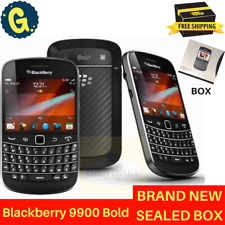 Brand New BlackBerry Bold 9900 Black 8GB 3G GPS SimFree Unlocked Smartphone