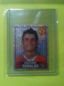 Cristiano RONALDO Manchester United 2006 Panini # 69