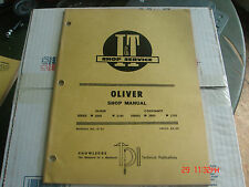 GENUINE OLIVER COCKSHUTT 2050 2150 TRACTOR I & T SERVICE REPAIR MANUAL