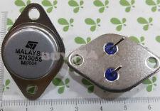 10X 2N3055 NPN Power Transistor Amp Audio Stereo DIY PSU Driver TO-3 15A 60V &