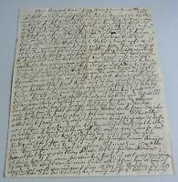 Letter Weischnuren (East Prussia) 1813: Widow From Kykpusch (Mann †