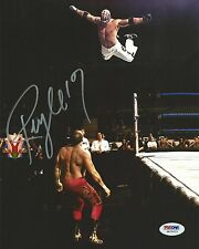 Rey Mysterio Signed WWE 8x10 Photo PSA/DNA COA Wrestling Mask Picture Autograph