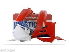 Kit plastiques coques Polisport Gas Gas EC 125 200 250 300 2005-06 couleur Rouge