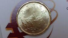 20 cents euro 2017 unc Saint Marin San Marino nouvelle effigie Сан - Марино