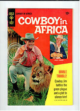 Gold Key COWBOY IN AFRICA #1 1967 vintage tv western comic