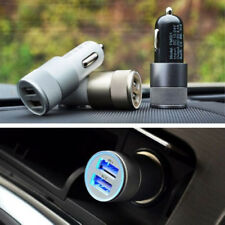 DUAL PORT USB CAR CHARGER HI AMP TABLET MOBILE PHONE FAST CHARGING LIGHTER TWIN