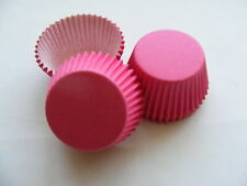 48 x high quality CERISE PINK Muffin / Cup Cake cases