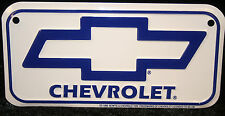 Chevy Bowtie mini bike license plate small motorcycle bicycle kids toy chevrolet