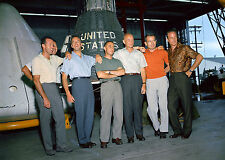 NASA-1963 Photo of the Original Seven Astronauts-Mercury Space Program-Memories