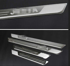 For VW JETTA MK4 MK5 MK6 04-13 Stainless Door Sill Plate Protector Scuff Guard