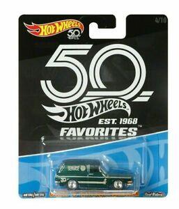 2018 Hot Wheels 50th Anniversary Favorites '69 VOLKSWAGEN SQUAREBACK NEW SEALED