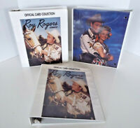 3 Vintage Roy Rogers Dale Evans Official Notebook 3 Ring Binders Arrow Catch Lot