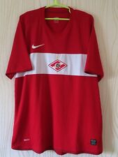 SPARTAK MOSCOW RUSSIA 2009 2010 NIKE HOME FOOTBALL SOCCER SHIRT JERSEY