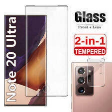 Samsung Galaxy Note 20 Ultra Tempered Glass Screen Protector / Camera Lens Cover