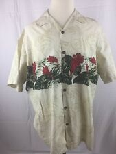 Hilo Hattie The Hawaiian Original 2XL 100% Cotton Shot Sleeve Shirt -A88