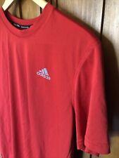 Adidas Men's Climalite Men Red Shirt | Athletic Men Shirt
