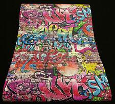 """05530-10) 1 Rolle schicke Papier Design Tapete """"Graffiti"""" fürs Kinderzimmer"""