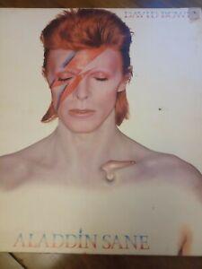 vinal records. David Bowie. Alladdin sane. 1973