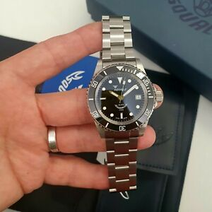 ⭐ Squale Sub Y1545 Diver 20 Atmos Top Condition Full Set ⭐