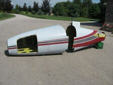 Aircraft Fuselage Components from a 1974 Piper Navajo P-425 - Nose and Tail