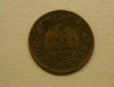 1924 India 1/12 Anna Coin