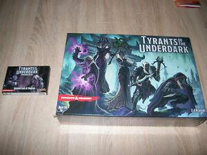 Fantasy Brettspiel Tyrants of the Underdark + Erw. - Dungeons & Dragons NEU OVP