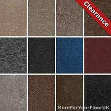 Cheap Carpet Loop Pile Carpet Twist Pile Carpet Felt Backing Only £3.49m²!
