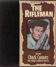 THE RIFLEMAN (4) VHS Box Set CHUCK CONNORS MINT!
