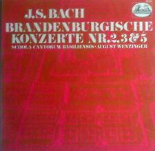 LP  J. S. Bach - Brandenburgische Konzerte  Nr. 2, 3 & 5