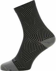 GORE C3 Mid Socks   6.7 inch   Graphite Grey/Black   L (10.5-12)