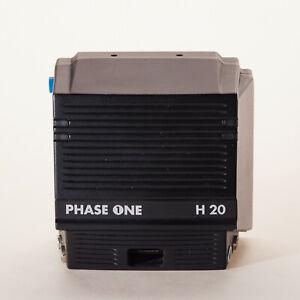 Phase One H20 Digital Backfür Hasselblad der 500er Serie oder Großformatkamera