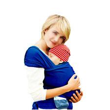 58469d0a0de Adjustable Baby Sling Stretchy Wrap Carrier Breastfeeding Newborn Birth 3yr  DeepBlue