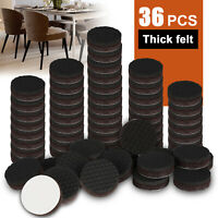 "36 Pcs Non Slip Furniture Pads Premium 1"" Best Self-adhesive Furniture Grippers"