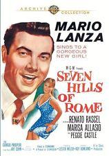 SEVEN HILLS OF ROME - (1958 Mario lanza) Region Free DVD - Sealed