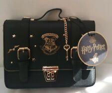 Harry Potter Hogwarts Black Satchel Shoulder Bag With Key Chain From Primark